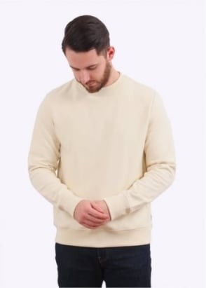 Paul Smith Organic Cotton Sweatshirt - Cream