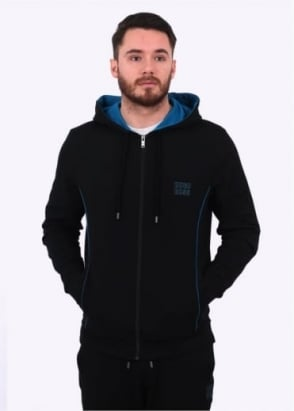 Hugo Boss Hooded Jacket - Black