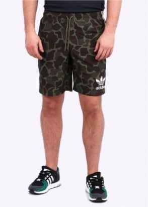 Adidas Originals Apparel Camo Board Shorts - Camo