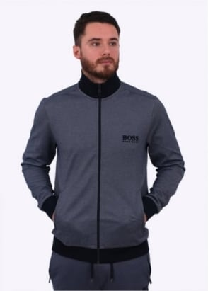 Hugo Boss Zip Jacket Open - Blue