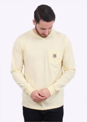 Carhartt LS Pocket T-Shirt - Lion