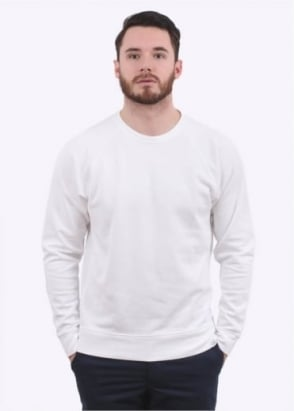 Norse Projects Vorm Mercerised Sweater - White