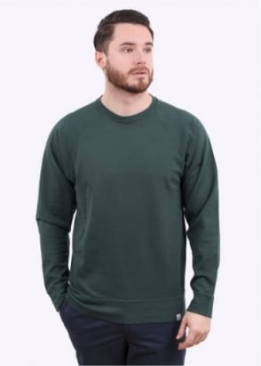 Norse Projects Vorm Mercerised Sweater - Verge Green