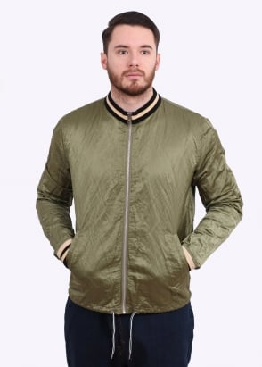Vivienne Westwood Mens Anglomania Souvenir Bomber Jacket - Green