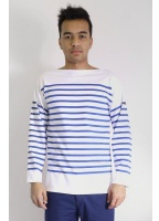 Nautical Tee Blue/White
