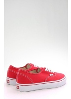 Vans Authentic Trainers Red/White