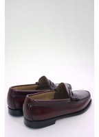 Bass Weejun Larson Penny Loafers Burgundy