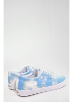 Pointer Canvas Plimsoll Trainers Sky