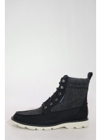 Shipyard Rigger Boot Black Herringbone