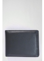 Vivienne Westwood Accessories Orb Logo Nappa Leather Wallet Black