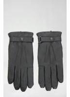 Barbour Classic Leather Gloves Black