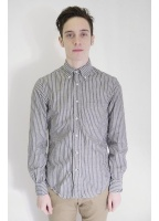 Gitman Vintage Stripe Shirt Navy