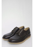 Fracap Leather Derby Shoes Moro