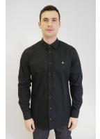 Vivienne Westwood Mens Formal Orb Shirt Black