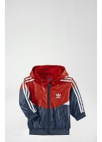 Adidas Originals Kids Colorado Windbreaker Blue & Red