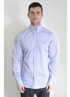 Vivienne Westwood Mens Long Sleeve Orb Shirt Blue