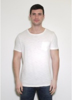 Lee Pocket Crew Tee Cloud