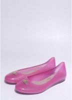 Vivienne Westwood Anglomania x Melissa Wanting Orb Shoe Fuschia