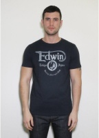 Edwin SS Vintage MC T-Shirt Black