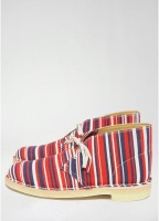 Clarks Originals x Southsea Deckchairs Desert Boot Red