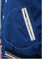 Nanamica Reversible Varsity Jacket Ink Blue