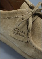 Clarks Originals Wallabee Shoe Maple Suede