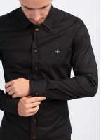 Vivienne Westwood Mens Button Shirt - Black