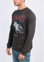 Obey Wild In The Streets LS Tee - Graphitie