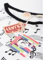 Levi's Vintage Clothing Graphic Note Tee - Multi-Coloured