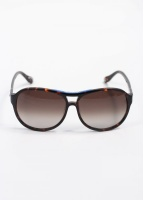 Vivienne Westwood Accessories Sunglasses - Brown/Blue