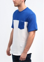 Levi's Red Tab Premium Goods Pocket T-Shirt - Blue / White