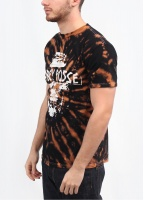 Obey In Nomine Partri T-Shirt - Bleached / Black