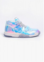 Nike Quickstrike Air Trainer 1 Mid Premium 'Superbowl' QS Trainers - Ice Blue / Multi-Coloured