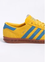 Adidas Originals Footwear Hamburg Trainers - Tribe Yellow / Bluebird