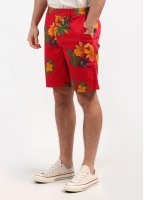 Obey Working Man II Shorts - Red