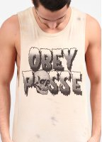 Obey Creeps Tank Top - Dirty Wash