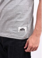 Alife Antique A Tee - Heather Grey