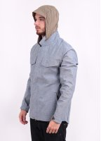 Levi's Commuter Hooded Field Jacket - Cliff Grey