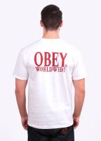 Obey Happy Hour Pocket Tee - White