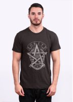 Obey Wreath Star Tee - Graphite