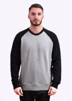 Carhartt Brooker Sweater - Heather Grey / Black