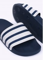 Adidas Originals Footwear Adilette Sandals - Blue / White