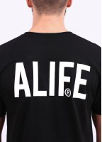 Alife Faded For Life Tee - Black