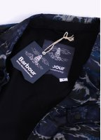 Barbour x White Mountaineering Wave Lapel Jacket - Navy Wave Print