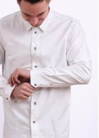 Paul Smith Standard Fit Long Sleeve Shirt - White