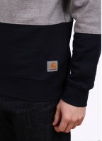 Carhartt Stanley Sweatshirt - Grey / Duke Blue