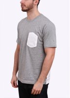Carhartt Short Sleeve Duncan Pocket Tee - Grey / White