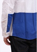 Carhartt Long Sleeve Porter Shirt - White / Resolution Blue