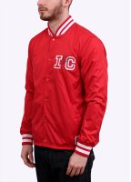 Ice Cream Majestic Players Coach Jacket - Red