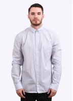 Norse Projects Kenneth Compact Stripe Shirt - Mixed